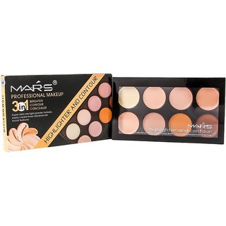 Mars Contouring and Highlighting Concealer  (Beige)
