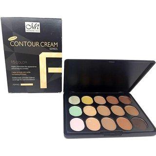 M.N MENOW  15 Colour Face Foundation Concealer CONTOUR MAKEUP CREAM 001