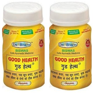 Good Health -Set of 2 (50 Capsules each) (By Dr. Biswas)