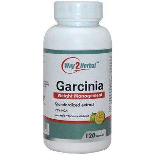Way2Herbal Garcinia 120 capsules
