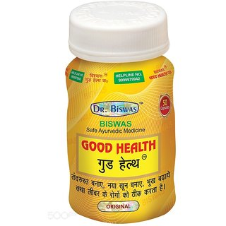 Dr. Biswas Good Health Capsule Pack of 3