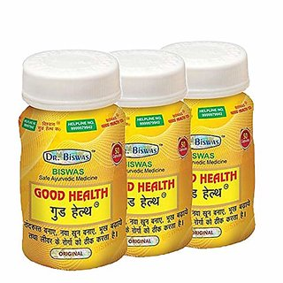 Dr. Biswas Good Health Capsule Pack of 3 by purepassion.in