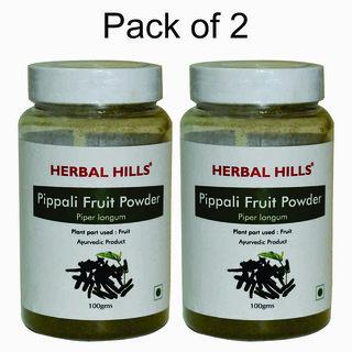 Herbal Hills Pippali fruit powder - 100 gms - Pack of 2