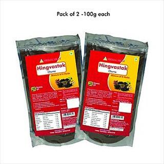 Herbal Hills Hingvastak Churna - 100 gms - Pack of 2