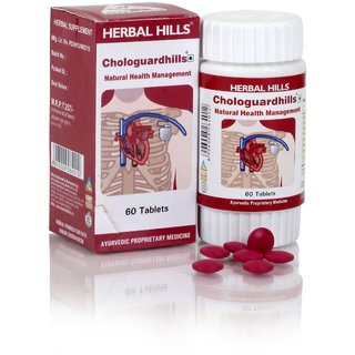 Herbal Hills Chologuardhills 60 Tablets