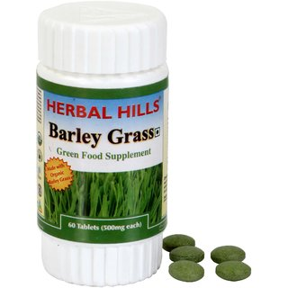 Herbal Hills Barley  Grass 60 Tablets