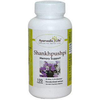 Ayurvedic Life Shankhpushpi 120 capsules