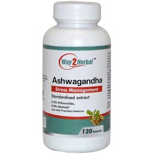 Way2Herbal Ashwagandha 120 capsules