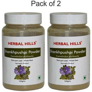 Herbal Hills Shankhpushpi Powder - 100 gms - Pack of 2
