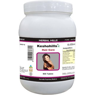 Herbal Hills Keshohills - Value Pack 900 Tablets