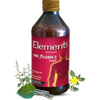 Elements Wellness Herbal Uri Flush 3 Liquid 200ml