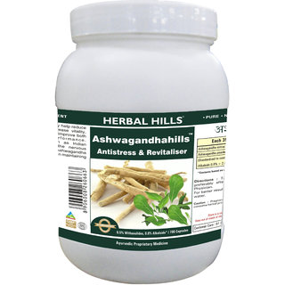Herbal Hills Ashwagandhahills - Value Pack 700 Capsule