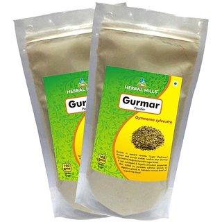 Herbal Hills Gurmar Powder - 100 gms - Pack of 2