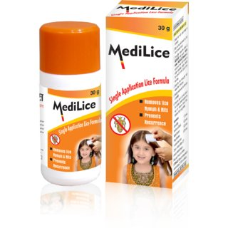 Medilice Anti Lice Cream Wash 30 GM (Pack of 6)