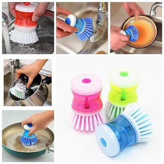 Vessels cleaning, Basin CLEANING WASH soap Dispenser Brush, KITCHEN ITEMS AND ALSO USE BASIN AND WIT SOAP DISPENSER (SET