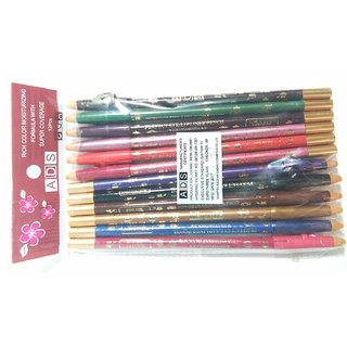 ADS True Lips Lip Liner Pencil Set of 12