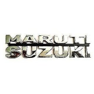 3D Chrome plated Emblem Logo Decal for Car/SUV/Sedan/Hatch for Maruti Suzuki