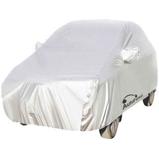 Autofurnish 100% Water Resistant Car Body Cover For Skoda Rapid - Parkin Silver