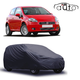 ABS AUTO TREND Matty Grey Car Cover Fiat Punto