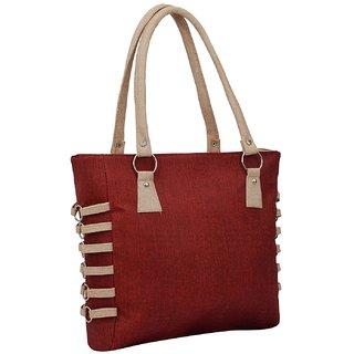 Bizarre Vogue Stylish Partywear Handbag for Women's  Girls (Red)