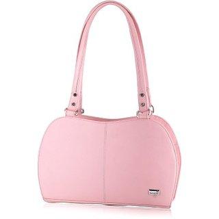 Butterflies Baby Pink Handbag