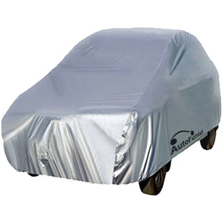 Autofurnish Silver Car Body Cover For Mitsubishi Pajero - Silver
