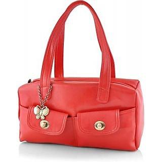 Butterflies Women ( Red ) Handbag BNS 0547RD
