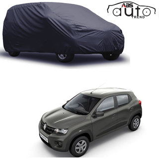 ABS AUTO TREND Matty Grey Car Cover Renault Kwid