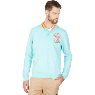 American Swan Shelby Mens Aruba Blue Sweatshirt