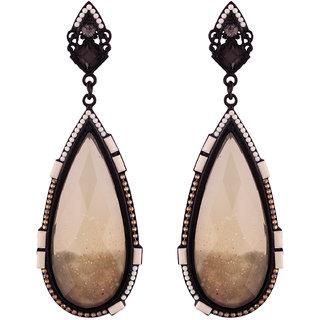 Jazz Alloy Antique Fancy Party Wear Dangler Earrings for Girls & Women