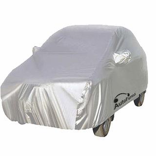 Silver Car Body Cover For Tata Indica V2 - Premium Silver