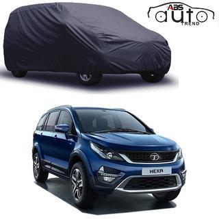 ABS AUTO TREND Matty Grey Car Cover Tata Hexa