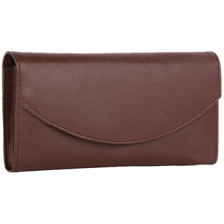 Meia Womens Brown Color Wallet
