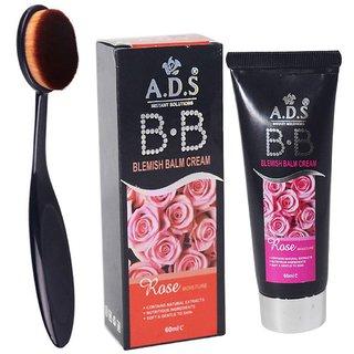 ADS BB Cream with foundation brush (Set of 2)