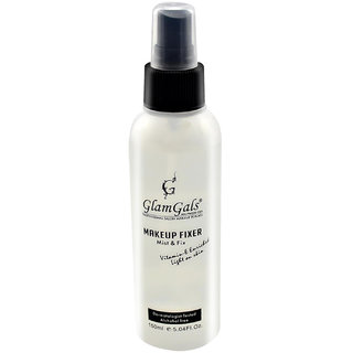 GlamGals Makeup Fixer, Transparent, 150 ml