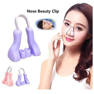 1PC Silicone Shaping Lifting Nose Up Clip Beauty Professional For Trouble Breathing portable New Fashion Nose Clips