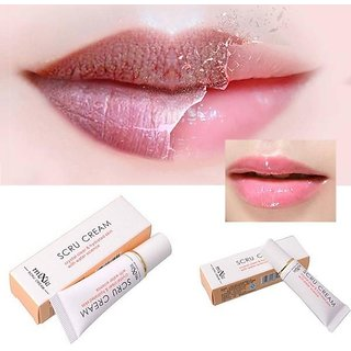 Professional Moisturizing Lip Cream Crystal Clear  Hydrated Skin with Water Science Remove Dead Skin Exfoliating Lip Sc