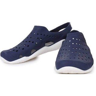 Clymb Crok Blue Fashion Lightening Sandal Clogs for Men