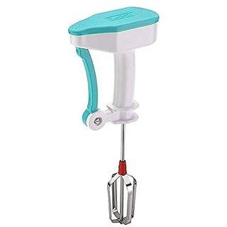 Bigsavings Portable Hand Blender Mixer Froth Whisker Lassi Maker for Milk Coffee Egg Beater - Useful for Egg  Cake Beater Blender Mixer (Assorted Color)