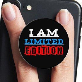 VCR I Am Limited Edition  Mobile Pop Up Holder for Your Phone  Tablet  Mobile Stand Holder  Phone Grip Holder  Black Colour Holder
