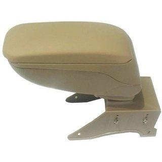 Spidy Moto Car Armrest Console Beige Colour For Universal Car
