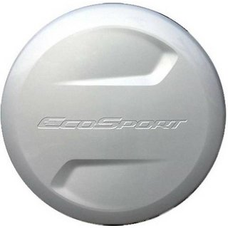 Stepney Cover for Ford ECOSPORT (White)
