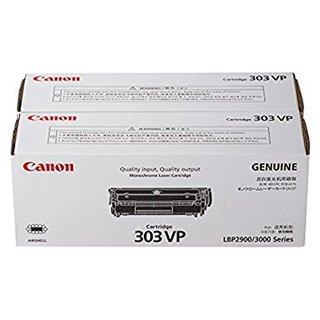 Canon 303 dual pack Black Toner Cartridge Laserjet Printer LBP 2900B / 3000