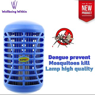 Wellbeing Within Dengue Prevent High Quality Mosquitoes Killer Night Lamp Multicolor