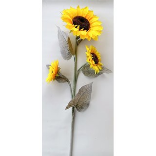 S N ENTERPRISES SNE5182 BIG SUNFLOWER STICK ARTIFICIAL FLOWER (47 INCHES)