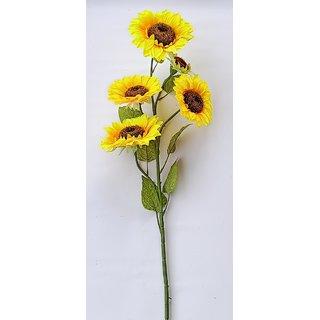 S N ENTERPRISES SNE5182 BIG SUNFLOWER STICK ARTIFICIAL FLOWER (40 INCHES)