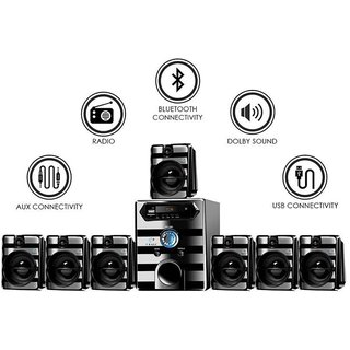 I Kall IK8888 Bluetooth 7.1 Component Home Theatre System
