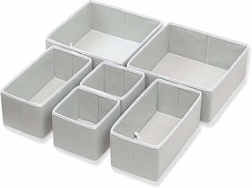 House of Quirk Shelf Organizers  (Grey)
