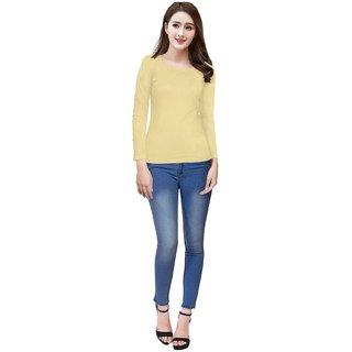 Vkaran Beige Knitting Plain Shirt (Tipsy07Chiku(S))