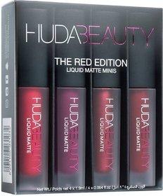 Huda Beauty Red Edition 8 g 4 Matte Liquid Mini Lipstick